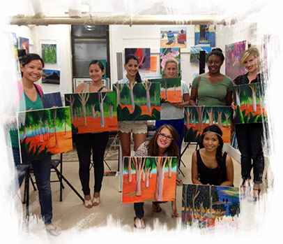 Painting Party NYC