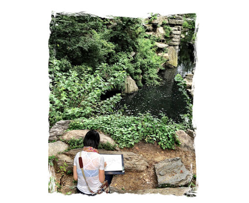 BEGINNER'S DRAWING CLASS IN CENTRAL PARK