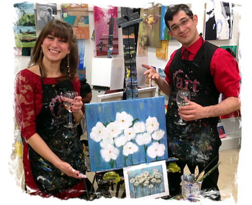 PAINTING DATE NIGHT! 1 NIGHT COUPLES PAINTING CLASS PARTY