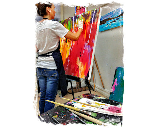 BOOK YOUR 1-HOUR PRIVATE ART LESSON!