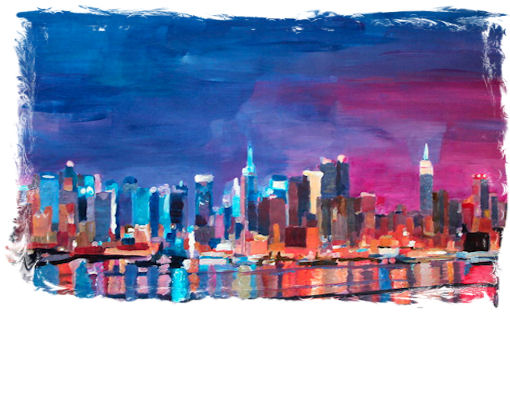 1 NIGHT PAINT AND SIP: PASTELS PAINTING PARTY
