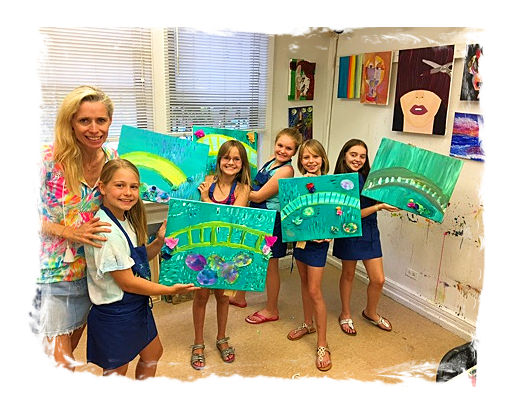 AGES 4 - 11: SPRING ART CAMP