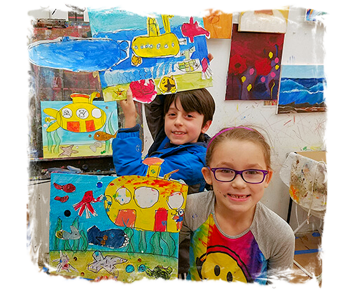 AGES 4 - 11: SUMMER ART CAMP
