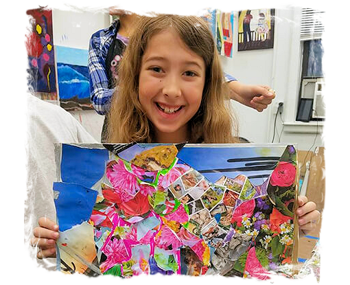 AGES 4 - 11: WINTER ART CAMP