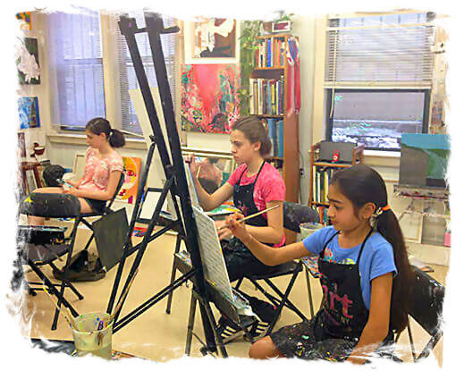 AGES 12 - 17: SUMMER ART CAMP