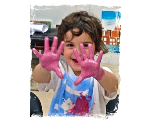 AGES 2 - 3: MOMMY and ME: MY FIRST ART CLASS FOR PETITE PICASSOS