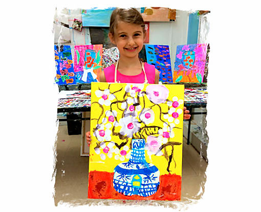 AGES 4 - 6 CREATIVITY FOR CUTIES: KIDS ART FROM THE heART
