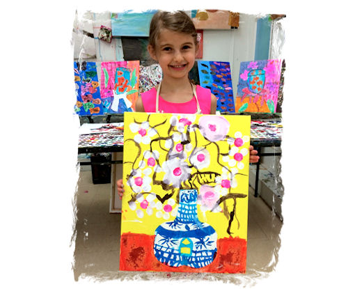 AGES 6 - 8: DRAWING and PAINTING FROM THE HEART