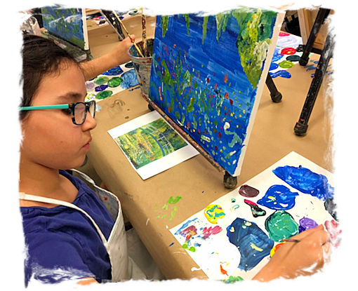 AGES 6 - 11: DRAWING, PAINTING, and SELF-EXPRESSION