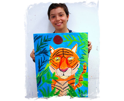 AGES 7 - 11: DRAWING AND PAINTING FROM THE HEART 101