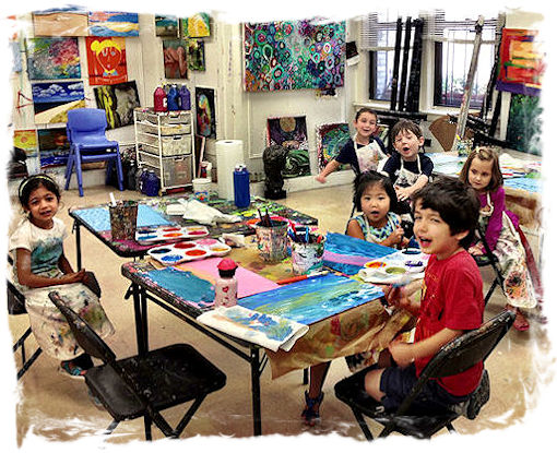 AGES 4 - 11: SPRING ART CAMP (1)