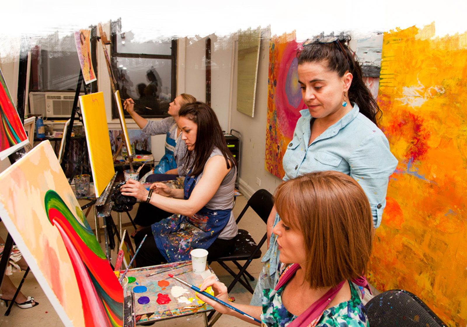 Adult Painting Classes - Painting classes for adults - The ...