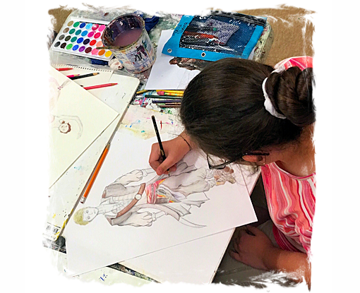 AGES 11 - 14: DRAW! COMICS AND CARTOON DRAWING