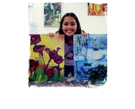 AGES 9 - 13: DRAWING, PAINTING, and SELF-EXPRESSION