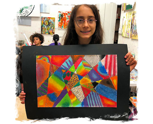AGES 9 - 12: DRAWING, PAINTING, and SELF-EXPRESSION