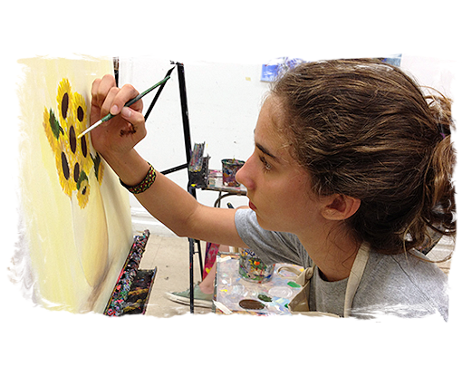 AGES 12 - 17: TEENS DRAWING, PAINTING, and SELF-EXPRESSION CLASS