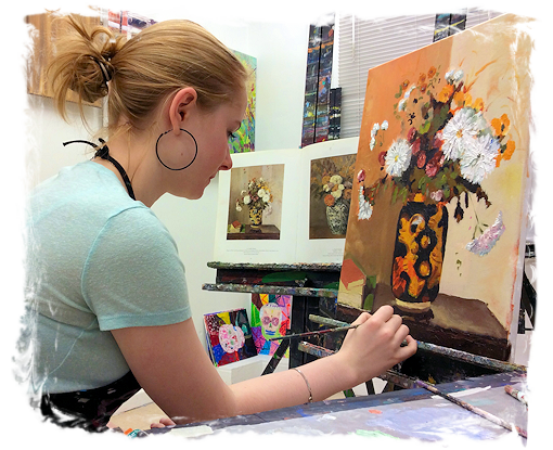 AGES 11 - 14: TEEN PORTFOLIO PREP ART CLASS FOR VISUAL ARTS HIGH SCHOOLS