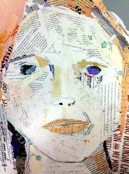 Student Artwork - The Art Studio NY picture of a woman's face