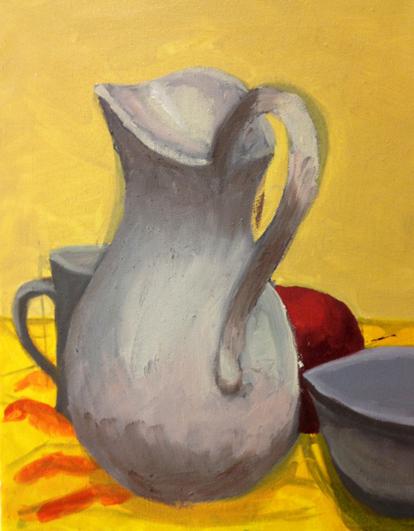 Photo Still Life - The Art Studio NY - still life with pitcher