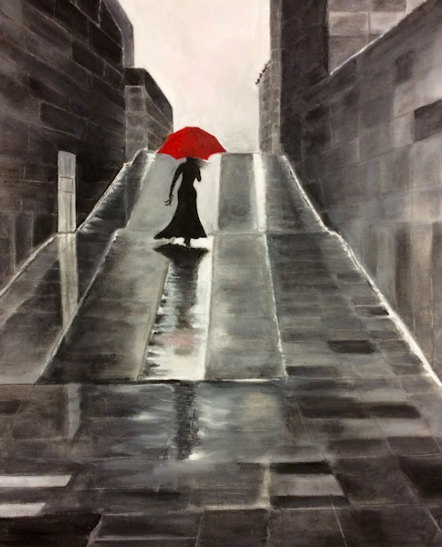 Student Artwork - The Art Studio NY - Playing with color and composition is a favorite topic of our talented art teachers