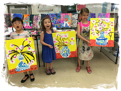 Art Playdate For Kids & Families at The Art Studio NY