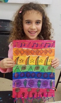 All instruction is tailor-made for each child's needs and interests in our kids art classes NYC