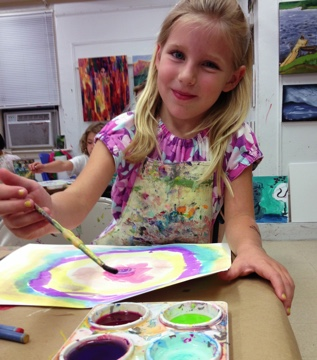 Our kids art classes allow your child's creative spirit to soar
