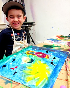 Our Kids Art Classes NYC at The Art Studio NY create the opportunity for your child to explore their unique creativity