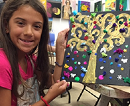 Our #1-Rated art lessons for kids are very effective development tools for your children