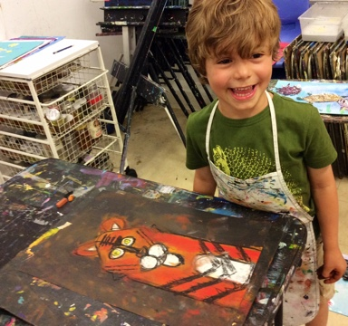 Nurture the inner artist of children through our art classes for kids in NYC