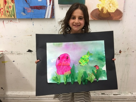 Help your children explore their creativity through painting & drawing art classes for kids
