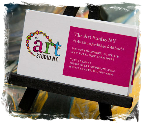 Gift Certificates at The Art Studio NY