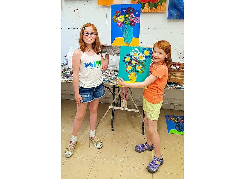 girls-showing-mixed-media-art