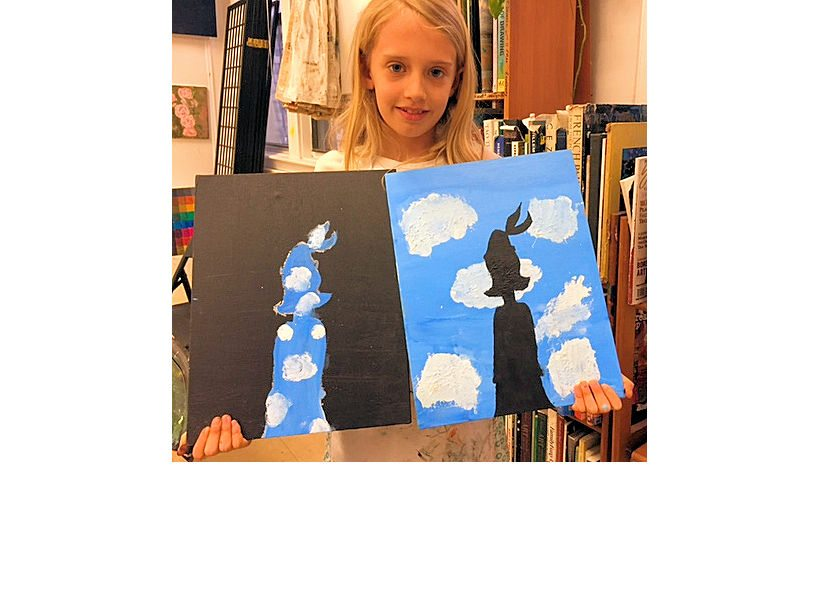 happy-girl-displays-paintings-nyc