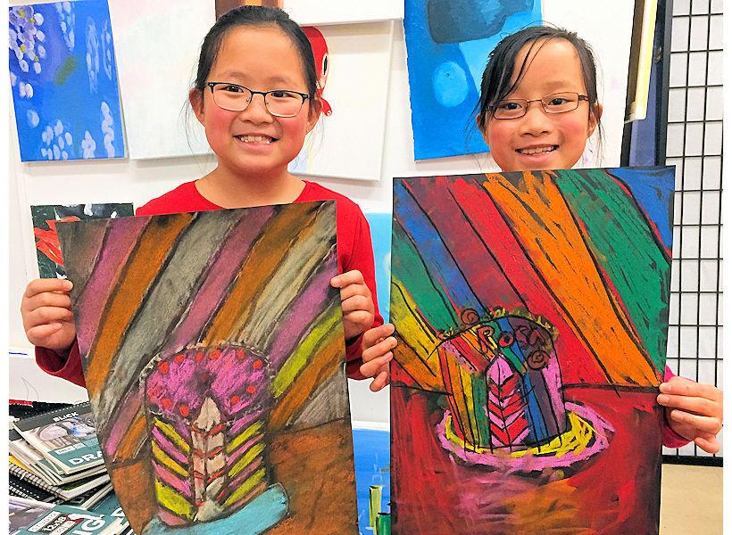 happy-kids-pastel-drawings-nyc